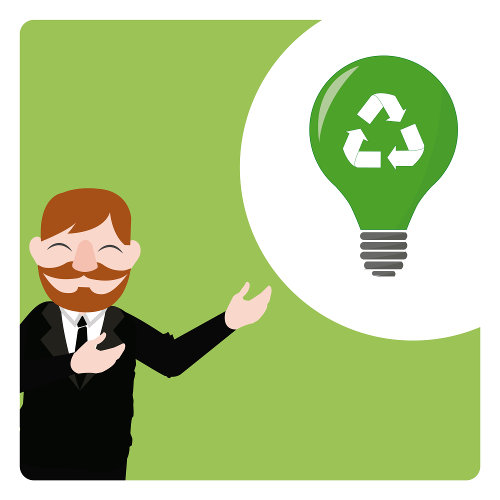 Small business goes green