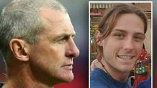 Phil Walsh and his son, Cy Walsh.