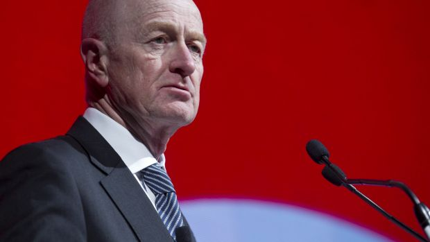 """Were a change to monetary policy to be required in the near term, it would almost certainly be an easing, not a tightening"" RBA governor Glenn Stevens."
