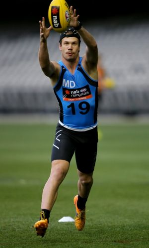 Could be a stretch: St Kilda will face a call over Bailey Rice on Tuesday night.