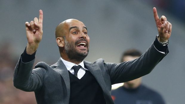 Manchester bound?: Now that his time at Bayern Munich has a closing date, Pep Guardiola may end up coaching Manchester City.