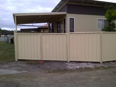colorbond-domestic-fencing-hunter-valley