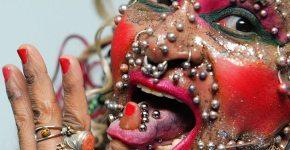 pierced-lady