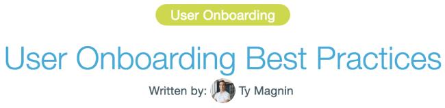 Appcues headline typography example