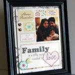 Family frame: a hybrid tutorial