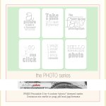 {Freebie: Printable Photo themed cards}