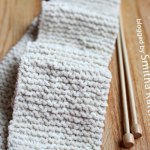 Learn how to knit a scarf for beginners
