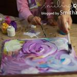 {Make it with Kids Monday: Painted Canvas}