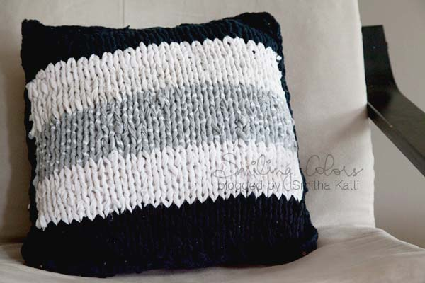 KnitCushion