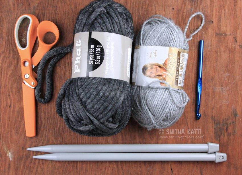 Knitting Essentials Yarn Separator : Quick knit scarf with free pattern smitha katti
