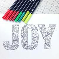 Free Holiday Coloring Sheet Download