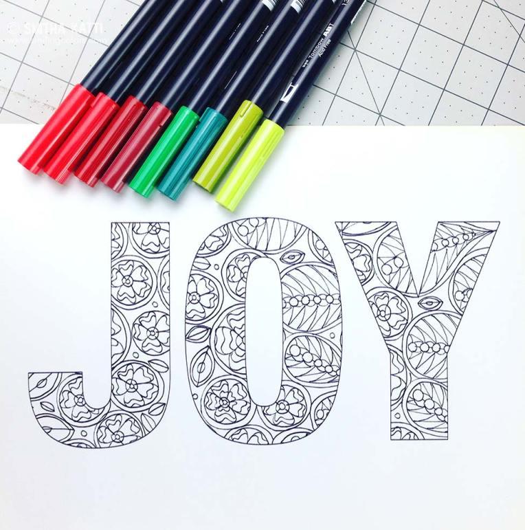 free_printable_holiday_coloring_joy