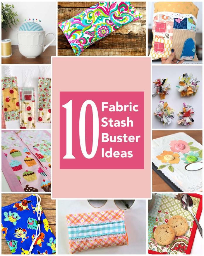 Fabric Stash Buster Ideas