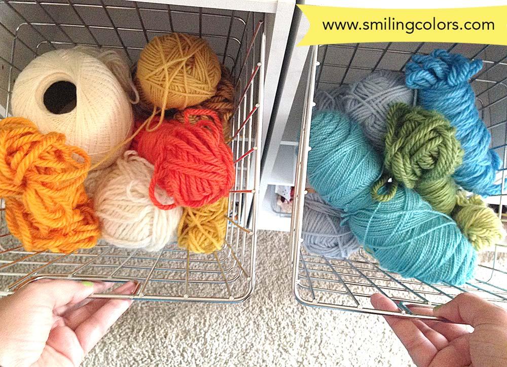smitha yarn stash
