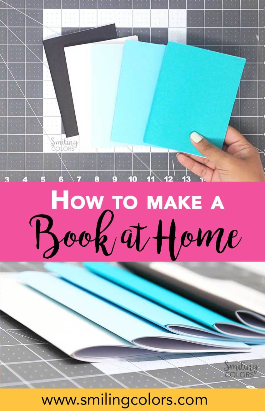 how to make a book at home