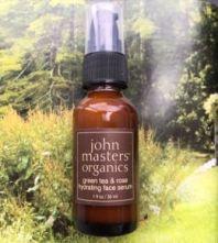 John Masters Organics hidratantni serum od zelenog čaja i ruže