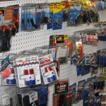 Numerous boat repair supplies