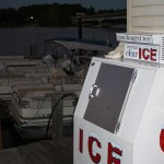 Ice for the Hot Days on the Lake