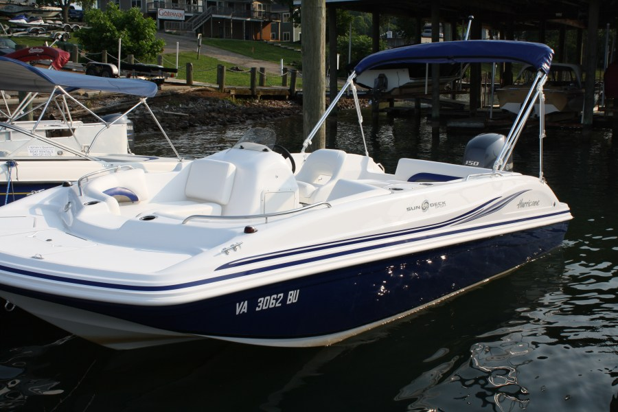New Deck Boat for 2012 Season