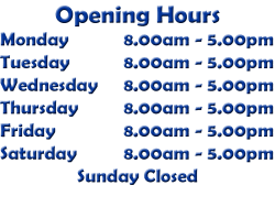 Smiths Opening Hours