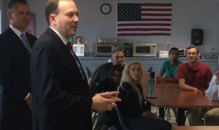 """Rep. Zeldin Makes First Visit of This Month's """"NY-1 Economic Growth Tour"""" 2"""