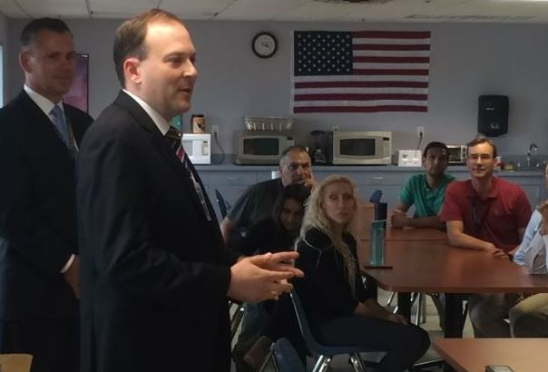 "Rep. Zeldin Makes First Visit of This Month's ""NY-1 Economic Growth Tour"" 2"