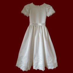Multipurpose Embroidered Crosses Beaded Lace Hail Mary Communion Dress Crosses Beaded Lace Girls Communion Dresses Jcpenney Communion Dresses Houston Hail Mary Communion Dress