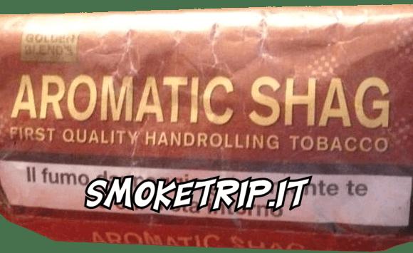 Tabacco Aromatic Shag : La Recensione