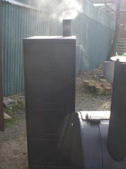 Small Of File Cabinet Smoker