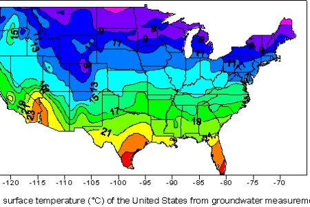 image gallery temperature map