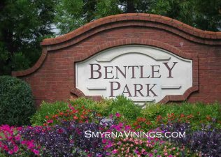 Bentley Park homes, Smyrna Homes, Vinings Homes, Smyrna Vinings homes