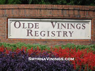 Olde Vinings Registry - Vinings Homes