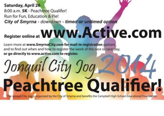 2014 jonquil city jog