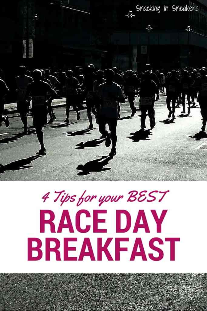 4 tips for your best race day breakfast
