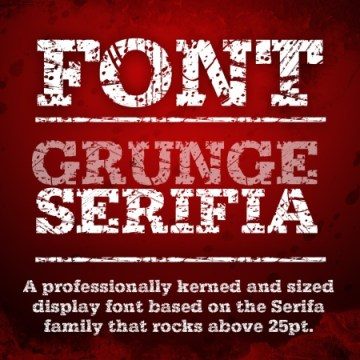 Grunge_Serifia