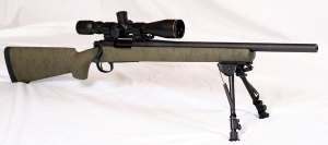 Rem 700, HS Precision PST-008, Green