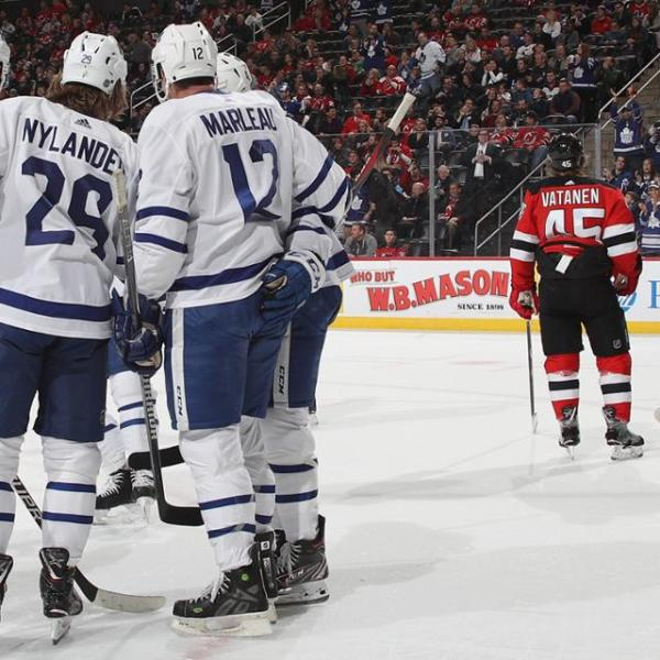 Maple Leafs vs Devils