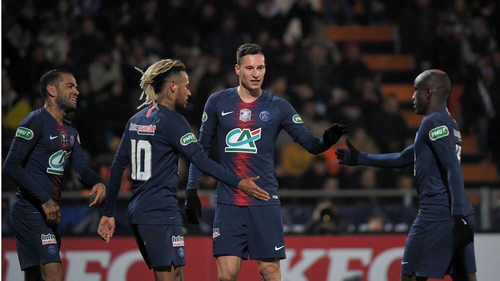 Pontivy vs Paris Saint-Germain