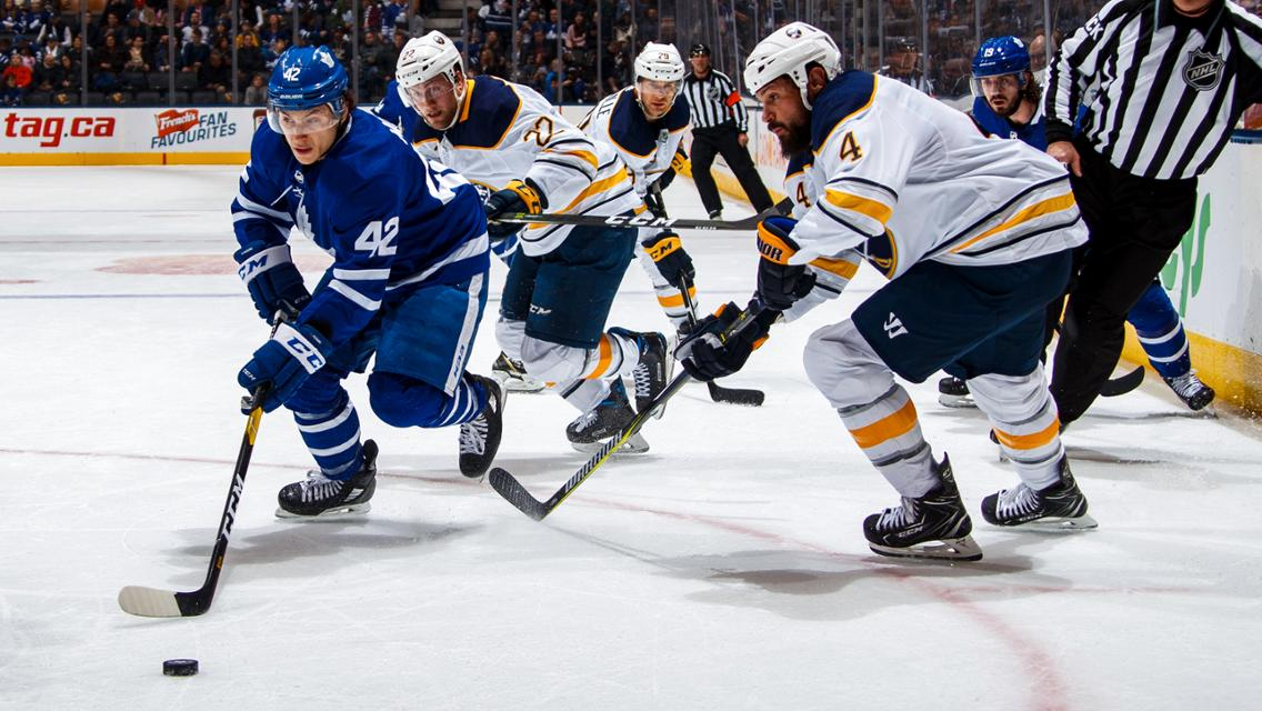 Leafs vs Sabres
