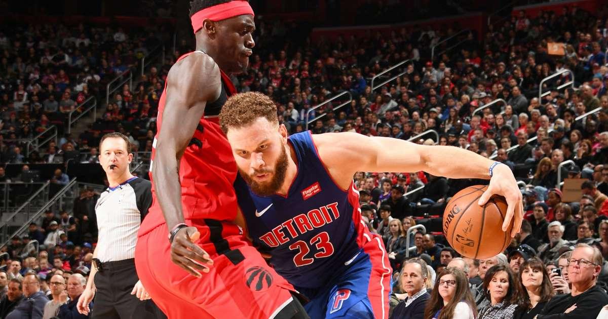 Raptors vs Pistons