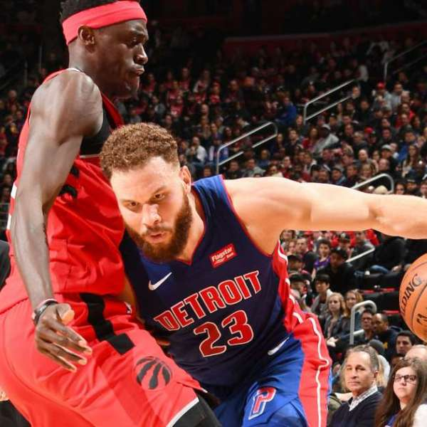 Raptors vs Pistons