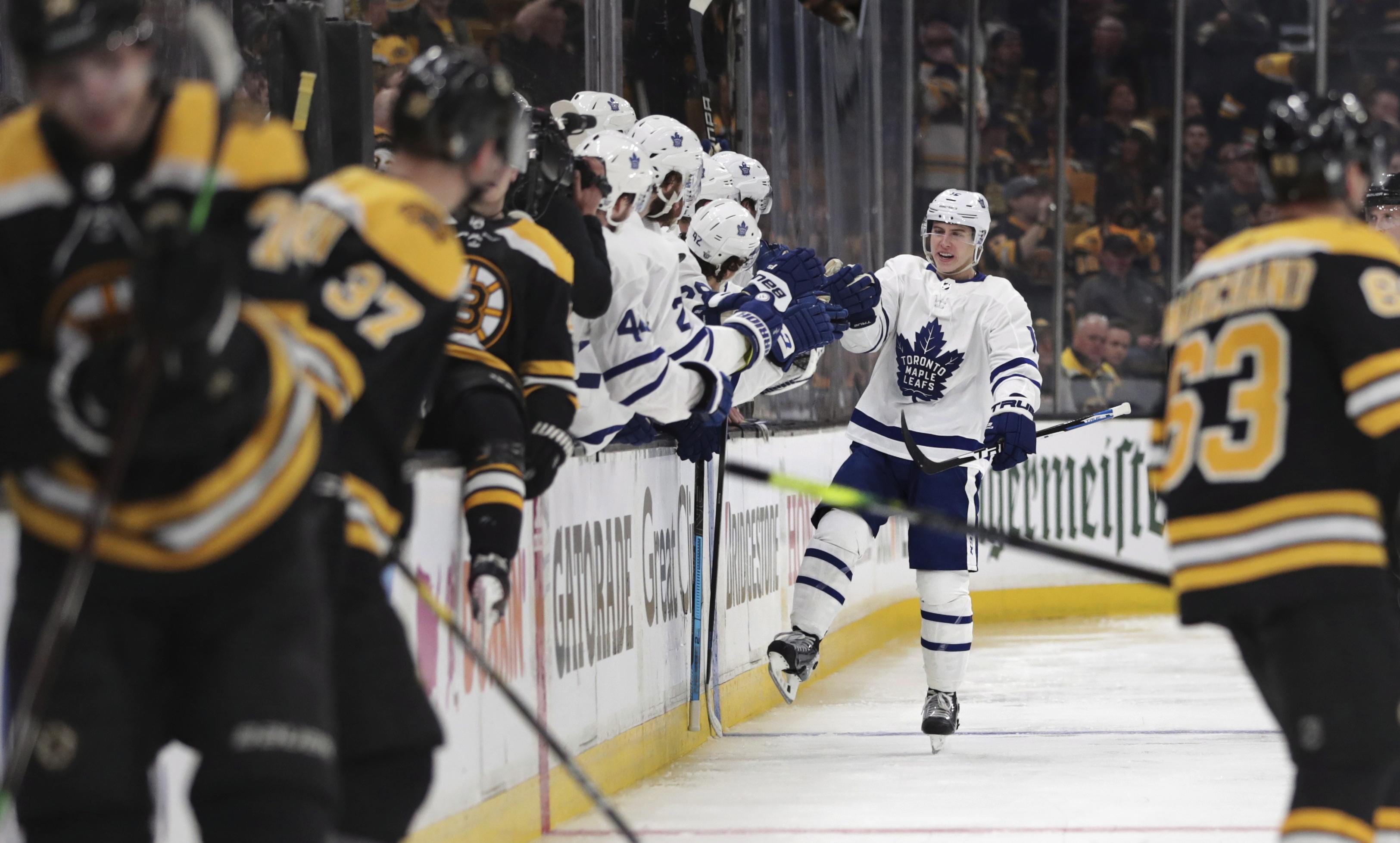 Leafs vs Bruins Game 1