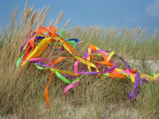 Kite Tails Project, Terschelling Island, The Netherlands Dramatherapy