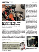Diagnose and Repair Snowmobile Electrical Problems