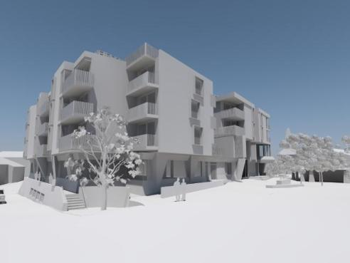 Kooroora Hotel development at Mt Buller