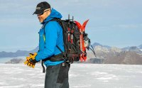 the author on Glacier 3000, Les Diablerets, Swiss Alps this week
