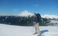 Steve Kux en route to Elfin Lakes near Squamish, BC
