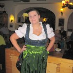 Waitress in Hotel Parsenn