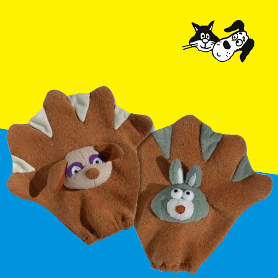 pet wash glove