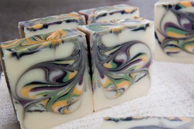 Butterfly Soap Swirl
